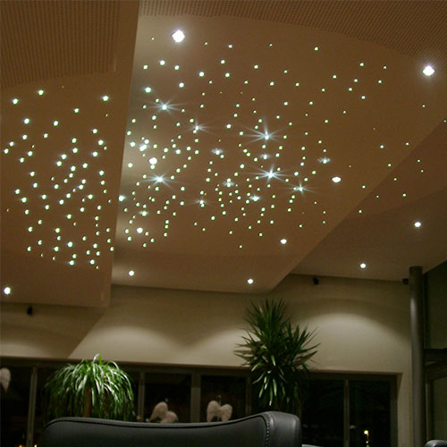 Fiber optic star ceiling kit 5w twinkle fiber optic star fiber optic star ceiling kit on ceiling aloadofball Gallery