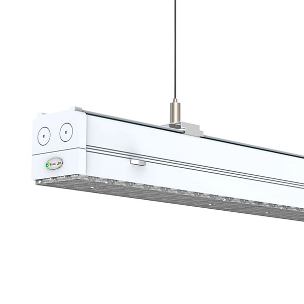 office light fixture. Reliable Zumtobel TECTON LED Replacement: Sanli Continuous-row System Office Light Fixture