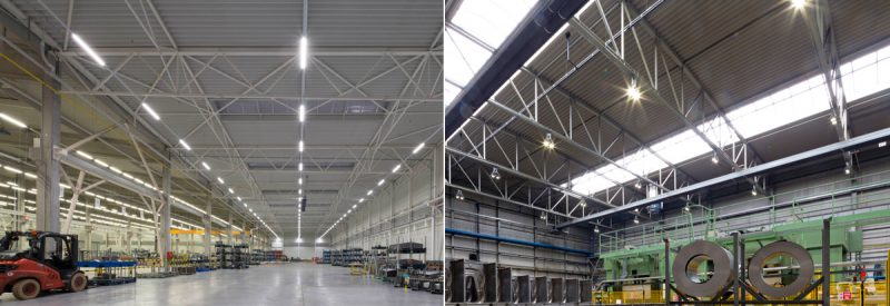 Continuous Row LED Linear Trunking System