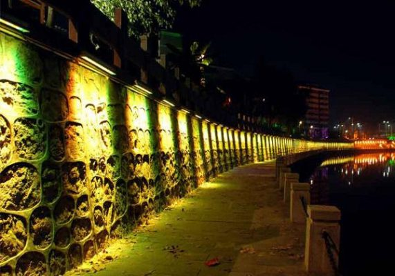 Outdoor Wall Washer Led Lights 0 3m 9w Wall Washer