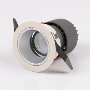 Adjustable COB LED downlight