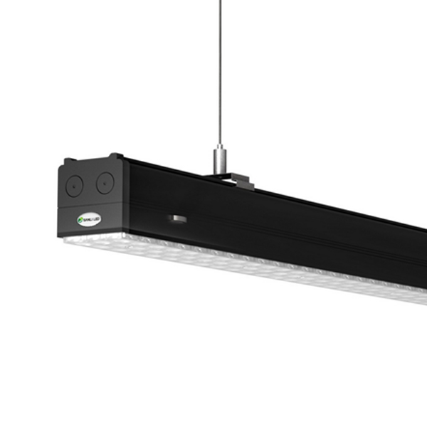 150w Linear Led Light Fixture: Double Asymmetric 25º 1.2/1.5M Linear LED High Bay