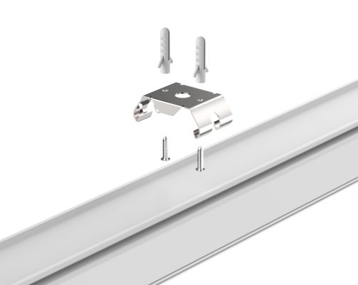 Surface mount kit for LED Linear Trunking System