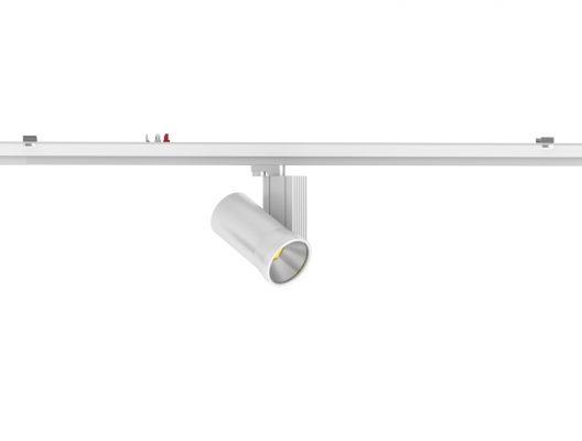 Track spotlight rail module